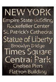 Simple Speak NY Print by Grace Pullen