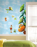 Dinosaur Train Peel & Stick Giant Wall Decals Wall Decal