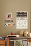 Family and Friends Peel & Stick Dry Erase Calendar Wall Decal Adhésif mural