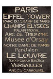 Simple Speak Paris Poster par Grace Pullen