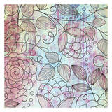Shabby Floral Prints by Kristin Emery