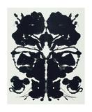 Andy Warhol - Rorschach Digitálně vytištěná reprodukce