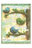 Birds Blue 3 Plakaty autor Diane Stimson