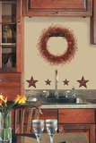 Country Wreath Peel & Stick Giant Wall Decal Wall Decal