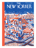 The New Yorker Cover - April 4, 1925 Giclee Print by Ilonka Karasz