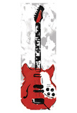 Electric Guitar Print by Jr., Enrique Rodriguez