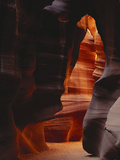 Red Sandstone Walls of Antelope Canyon, Arizona, USA Photographic Print by Adam Jones