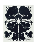 Rorschach Plakater af Andy Warhol