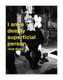 I Am a Deeply Superficial Person Giclee Print by Billy Name