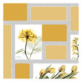 Mondrian Flowers 1 Prints by Albert Koetsier