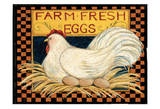 Fresh Eggs Prints by Carole Stevens