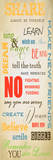 Kids Rules Prints by Taylor Greene
