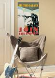 Star Wars Classic - Join the Empire Peel & Stick Giant Wall Decal Wall Decal