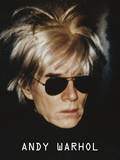 Andy Warhol - Self-Portrait in Fright Wig, 1986 Plakát