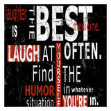 Laughter Print by Carole Stevens