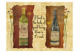 PM Wine Soul Prints by Grace Pullen