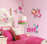 Hello Kitty - Floral Boutique Peel & Stick Wall Decals Wall Decal