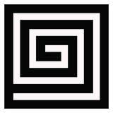 Labyrinthe Posters par Taylor Greene