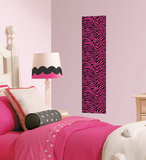 Pink Zebra Foam Tile Wall Decal Wall Decal
