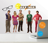 Big Bang Theory Peel & Stick Wall Decals Wall Decal