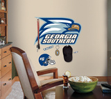 Georgia Southern University Peel & Stick Giant Wall Decal with Hooks Wall Decal