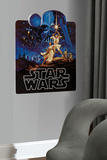 Star Wars Classic - Collage Peel &amp; Stick Giant Wall Decal Wall Decal