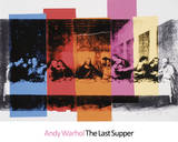 Detail of the Last Supper, 1986 Posters af Andy Warhol