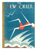 The New Yorker Cover - June 20, 1925 Regular Giclee Print by H.O. Hofman