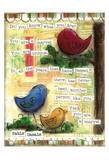 Birds Colorful Prints by Diane Stimson