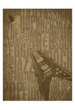 Guitars Prints by Jr., Enrique Rodriguez