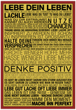 Lebe Dein Leben - This Is Your Life German Posters