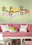 Scroll Tree Letter Branch Peel & Stick Giant Wall Decal Wall Decal