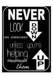Never Look Down Sztuka autor Taylor Greene
