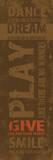 Typografia Reprodukcje autor Jace Grey