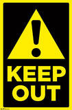 Keep Out Sign Prints