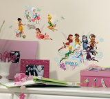 Disney Fairies - Secret of the Wings Peel & Stick Glitter Wall Decals Wall Decal