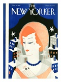 The New Yorker Cover - November 7, 1925 Giclee Print by Ilonka Karasz