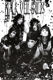 Black Veil Brides - B/W Band Posters