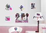 Monster High Peel & Stick Wall Decals Wall Decal