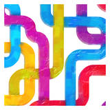 Geometric Line III Posters by Taylor Greene