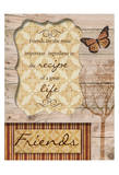Friends Are The Best Posters por Taylor Greene