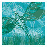 Dragonfly Field 2 Prints by Lorraine Rossi