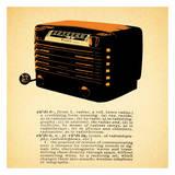 Retro Radio Posters by Tina Carlson