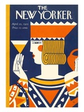 The New Yorker Cover - April 25, 1925 Regular Giclee Print by Ilonka Karasz