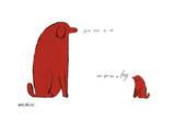 Du er så lille og Du er så stor, ca. 1958, på engelsk Giclée-tryk af Andy Warhol