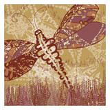 Dragonfly Field 2 Poster by Lorraine Rossi