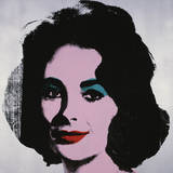 Andy Warhol - Liz, 1963 - Poster