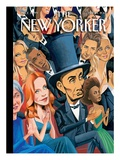The New Yorker Cover - February 25, 2013 Regular Giclee Print by Mark Ulriksen