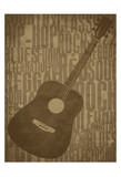 Guitars Print by Jr., Enrique Rodriguez
