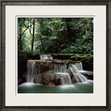 Waterfall Thailand Framed Photographic Print